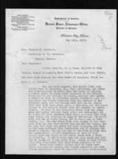 Governor Arthur Capper's slackers file - 10