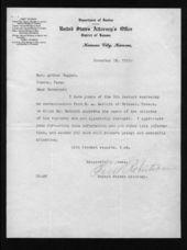 Governor Arthur Capper's slackers file - 12