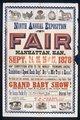 Ninth annual exposition and fair, Manhattan, Kansas