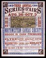 Third annual series of fairs