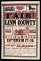 The sixth annual fair of the Linn County Agricultural and Mechanical Association