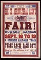 Elk County Agricultural Association's sixth annual fair, Howard, Kansas