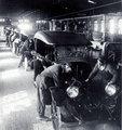 Jones Motor Car Company of Wichita assembly line