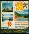 U.S. 50 coast to coast. The central pleasure route - Cover