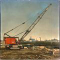 Kansas Avenue bridge construction, Topeka