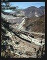Atchison, Topeka & Santa Fe Railway Company freight train, Cajon Pass, San Bernardino, California