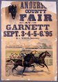 Anderson County fair, Garnett, Kansas