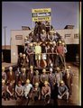 Atchison Topeka & Santa Fe Railway Company employees in Barstow, California