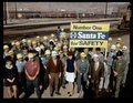 Atchison, Topeka and Santa Fe Railway Company employees in Barstow, California