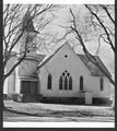 United Methodist Church, Hoyt, Kansas - United Methodist Church in Hoyt, Kansas, photograph taken before 1984.  *4