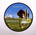 Kansas centennial seal