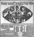 """Topping Captains All-Kansas Prep Team"""