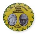 Kassebaum Political button