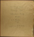 The Onaga courier's sectional township map of Pottawatomie County, Kansas - handwritten title page