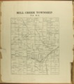 The Onaga courier's sectional township map of Pottawatomie County, Kansas - 2