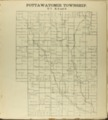 The Onaga courier's sectional township map of Pottawatomie County, Kansas - 9