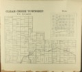 The Onaga courier's sectional township map of Pottawatomie County, Kansas - 43