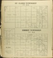 The Onaga courier's sectional township map of Pottawatomie County, Kansas - 44