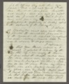 James Madison Harvey correspondence - 2
