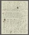 James Madison Harvey correspondence - 2