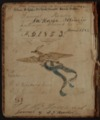 Samuel Reader's diary, volume 2 - Inside Front Cover