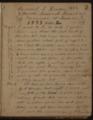Samuel Reader's diary, volume 2 - 3
