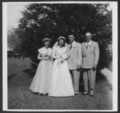 Wedding gown worn by Dorothy Peterson Sitts - 1