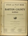 Atlas and plat book of Barton County, Kansas - Title Page