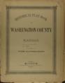Historical plat book of Washington County, Kansas - Title page