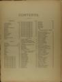 Historical plat book of Washington County, Kansas - Contents