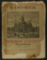 Handbook of Wilson County, Kansas - Front Cover
