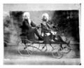 Children and wagon
