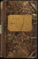 Samuel Reader's diary, volume 7