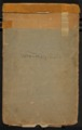 Reuben Smith diaries - Front Cover [1854-1860]