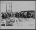 Views of Carey Salt Company - *2 Photograph of a group of onlookers at the Carey Salt Company