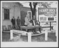 Views of Carey Salt Company - *3 Photograph of a man making a speech at the Carey Salt Company