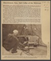 Carey Salt Company operations - *13 Photograph, with text, of a man operating an undercutter