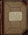 Samuel Reader's diary, volume 11