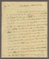 Benjamin and Richard Rush papers - 1 [Box 1 Folder 9]