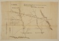 United States Office of Indian Affairs, Central Superintendency, St. Louis, Missouri. Surveys of Indian Reservations - Kickapoo-Delaware line, 1854