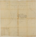 United States Office of Indian Affairs, Central Superintendency, St. Louis, Missouri. Surveys of Indian Reservations - Plat of Wyandot lands