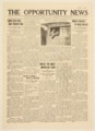 The Opportunity News, Atchison, Topeka and Santa Fe special train newspaper - 1