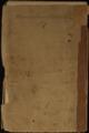 Samuel J. Reader's autobiography, volume 1 - Back Cover