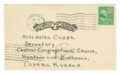Charles M. Sheldon and Central Congregational Church correspondence