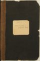 Samuel Reader's diary, volume 15 - Front Cover