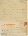 Charles M. Sheldon and Central Congregational Church correspondence - 3