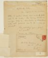 Charles M. Sheldon and Central Congregational Church correspondence - 4