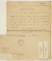 Charles M. Sheldon and Central Congregational Church correspondence - 5