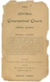 Central Congregational Church bulletins - 9