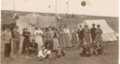 Group camping near Grainfield, Kansas